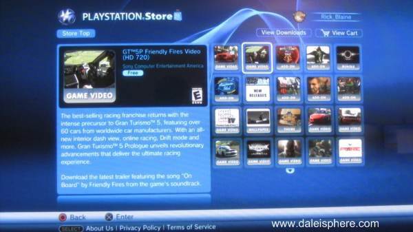 sony playstation store ps3