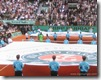 Opening Ceremony at 2008 French Open Men's Finals