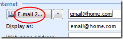 Outlook 'E-mail 2...'