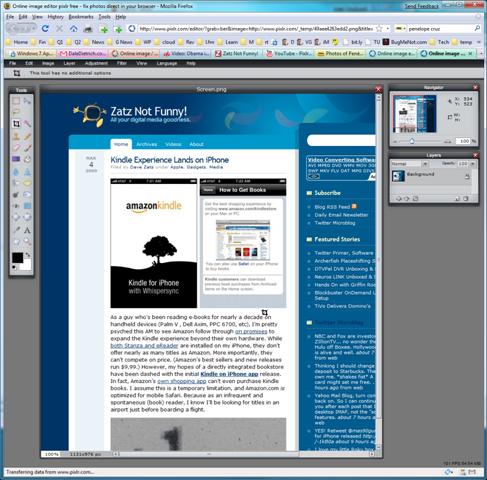 Pixlr – Terrific, Free, Web-based Image Editor