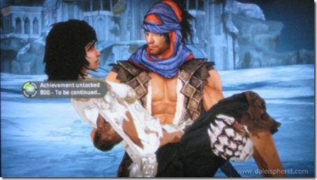 prince of persia (2008) - achievement - to be continued