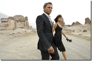 quantum of solace (2008) - daniel craig and Olga Kurylenko