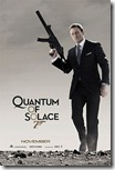 quantum of solace (2008) - teaser poster