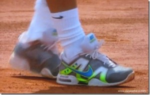 Nadal's Designer Tennis Shoes – French Open 2010