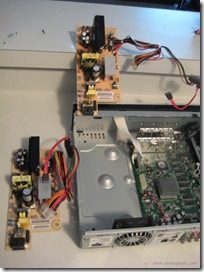 Replacing a TiVo Series 3 Power Supply - During Picture