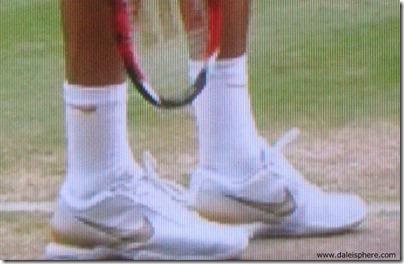 roger federer designer tennis shoes 2 - wimbledon 2009