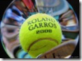 Roland Garros 2008 Tennis Ball