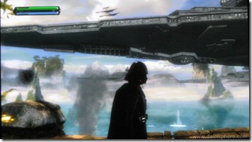 Star Wars - Force Unleashed - Darth Vadar on the Wookie Planet of Kashyyk
