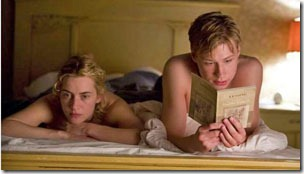 the reader (2008) david kross reads to kate winslet on the bed