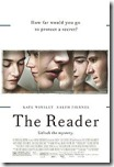 the reader (2008) poster