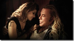 the wrestler (2008) mickey rourke and marisa tomei