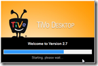 tivo desktop 2.7 startup splash screen