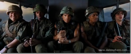 tropic thunder (2008) ben stiller, jack black, robert downy jr and cast
