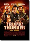 tropic thunder (2008) movie poster