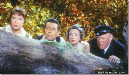 trouble with harry - shirley maclaine, john forsythe, mildred natwick and edmund gwenn