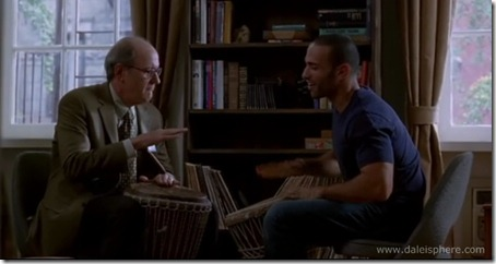 visitor (2008) haaz sleiman teaches richard jenkins to play bongo drums