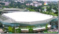wimbledon 2009 - closing centre court roof - first time 8 - external view