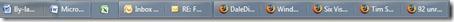 Windows 7 Beta - taskbar - never combine